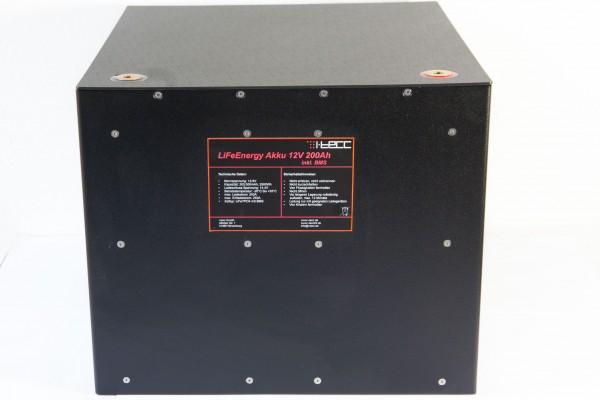 LiFePO4 Batterie 12V 200Ah - LiFeEnergy 12V.200.B