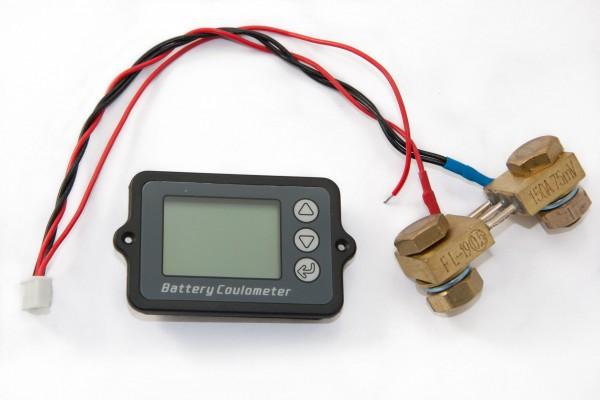 Batteriemonitor 8-50V, Shunt 100A