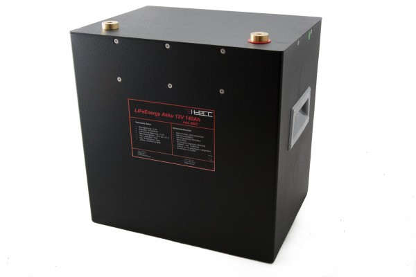 LiFePO4 Batterie 12V 140Ah - LiFeEnergy 12V.140