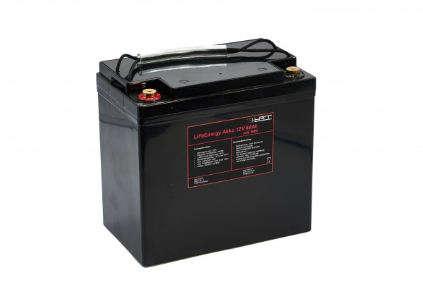 LiFePO4 Batterie 12V60Ah