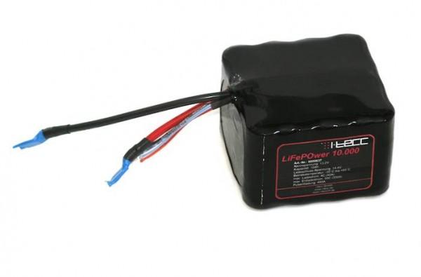 LiFePO4 Starterbatterie LiFeEnergy 10.000 12V 10Ah (original A123)