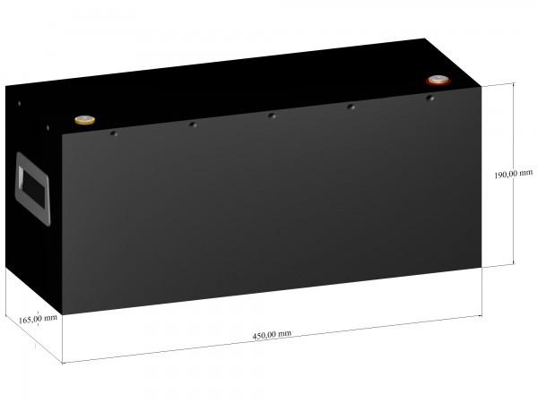 LiFePO4 Batterie 12V 150Ah - LiFeEnergy 12V.150.B