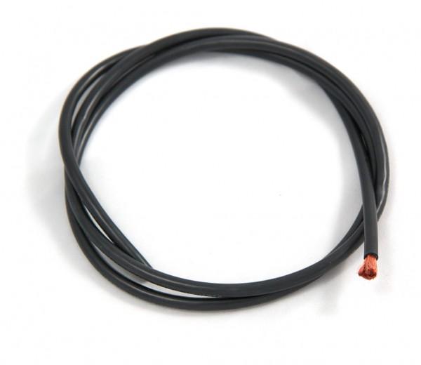 Silikonkabel 1mm² schwarz