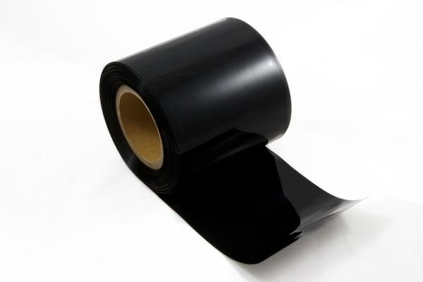 Schrumpfschlauch PVC 58mm schwarz