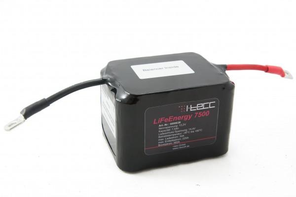 Starterbatterie 12V 7,5Ah mit A123-Zellen, Balancer inside