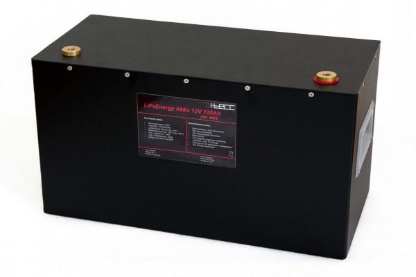 LiFePO4 Batterie 12V 100Ah - LiFeEnergy 12V.100B
