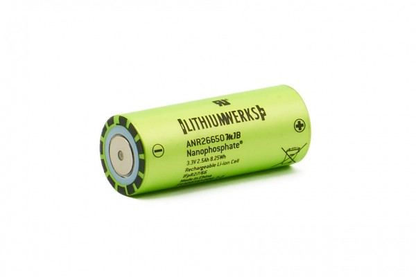 Lithiumwerks 26650 A123