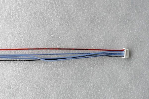 XH-Buchse 5-polig mit 30cm Silikonlitze