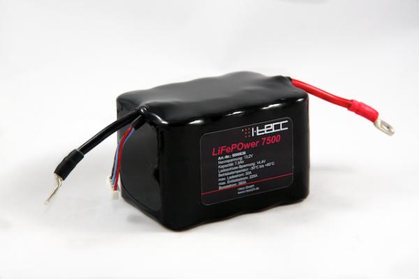 LiFePO4 Starterbatterie LiFeEnergy 7500 12V 7,5Ah A.b. (original A123)