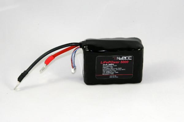 LiFePO4 Starterbatterie LiFeEnergy 5000 12V 5Ah (original A123)