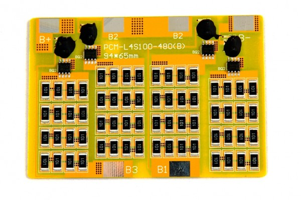 Balancer-/Lastmodul LiFePO Akkus 4S 600mA für 12V Systeme