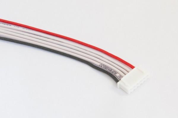 XH-Buchse 6-polig mit 30cm Silikonlitze