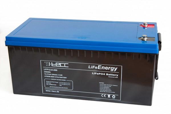 LiFePO4 Batterie 12V 200Ah - LiFeEnergy 12V.200
