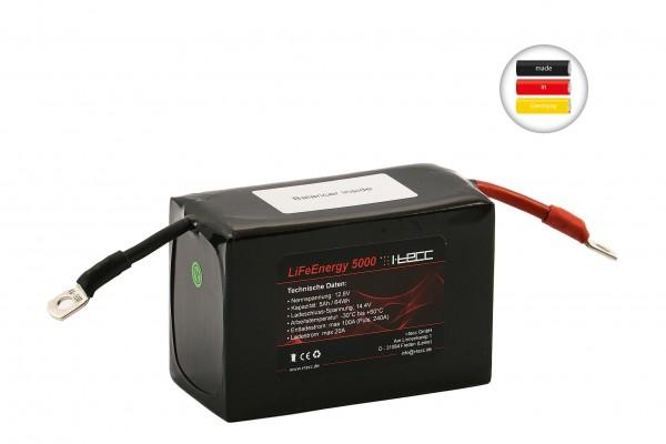 LiFePO4 Starterbatterie 12v 5Ah Cuprum