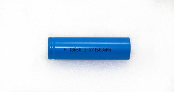 LiFePO4 Zelle 18650 1,5Ah
