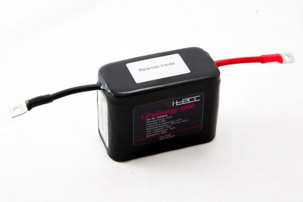 Starterbatterie 12V 5Ah mit A123-Zellen, Balancer inside