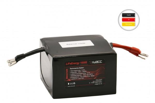 LiFePO4 Starterbatterie 10Ah A123 Zellen