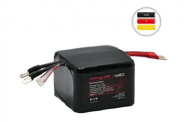 LiFePO4 Starterbatterie 10Ah A123-Zellen